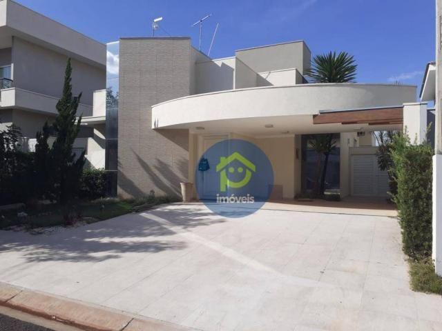 Casa com 3 dormitórios para alugar, 230 m² por R$ 4.400,00/mês - Parque Residencial Damha