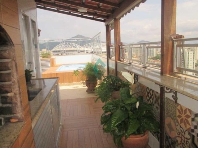 Cobertura à venda com 3 dormitórios em Cachambi, Rio de janeiro cod:M6245 - Foto 3
