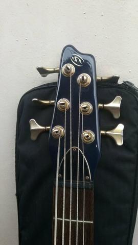 V/T Baixo Strimberg 6 cordas - Foto 3