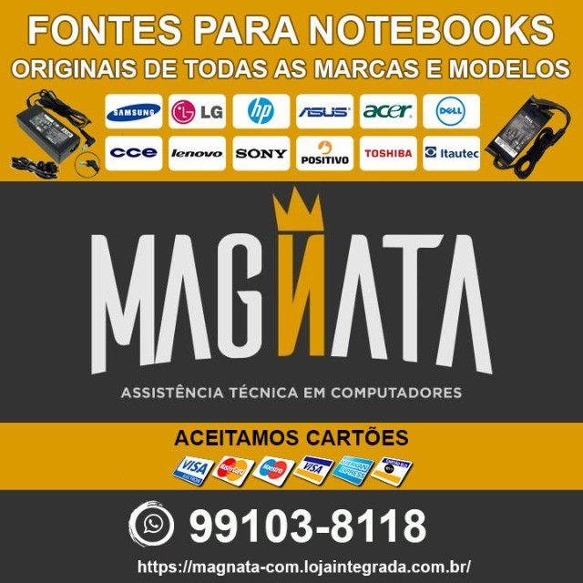 Fontes para notebook