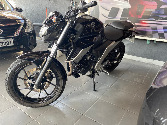 Yamaha FZ 25 Fazer Ano 20/ 20 Preta Flex - Foto 3