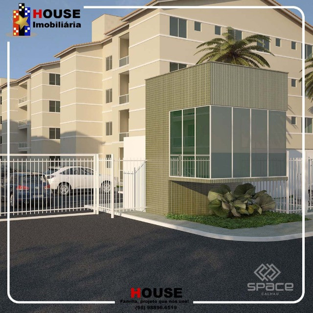 Condominio space calhau, com 2 quartos