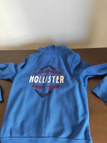 Jaqueta Hollister Azul  - Foto 2