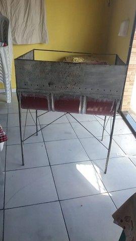 Churrasqueira tambor nova  - Foto 2