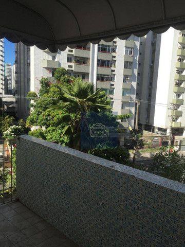 Apartamento com 4 dormitórios para alugar, 200 m² por R$ 1.900,00/mês - Boa Viagem - Recif