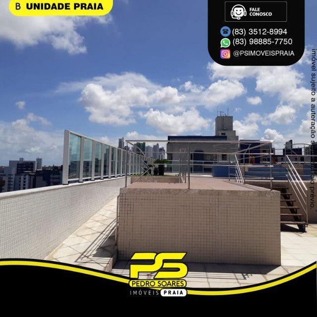 Apartamento com 3 dormitórios para alugar, 78 m² por R$ 3.500,00/mês - Tambaú - João Pesso - Foto 2