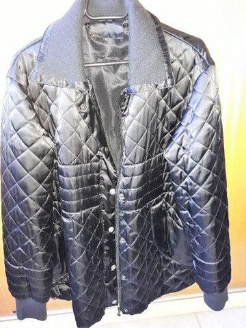 Jaqueta de Inverno Nylon Preta