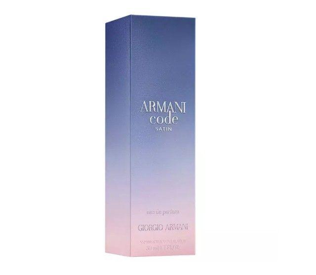 Giorgio Armani Code Satin Feminino Edp 50ml Importado Original Lacrado