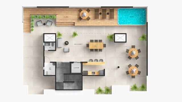 Apartamento com 3 quartos no Bessa - Elevador e Lazer - 100 metros do Mar - Foto 3