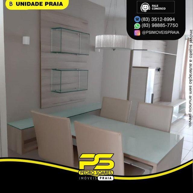 Apartamento com 3 dormitórios para alugar, 78 m² por R$ 3.500,00/mês - Tambaú - João Pesso - Foto 10