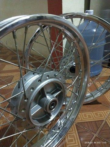 Rodas completas originais Honda - Foto 3