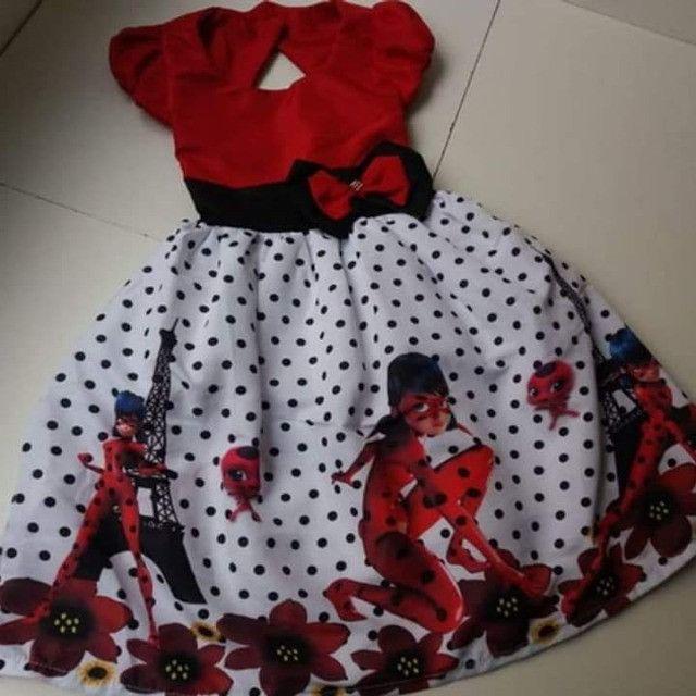 Vestido Ladybug Tamanho 8
