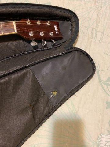 Capa acolchoada para violão  - Foto 5
