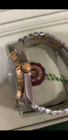 Relógio Rolex Oyster Perpetual Datejust a prova d'água Completo - Foto 5