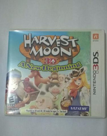 Harvest Moon 3D A New Beginnig