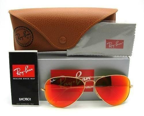 ... ireland Óculos de sol ray ban aviador espelhado vermelho laranja rb3025  3026 unissex 94d97 64b5c f0d4b44d4c