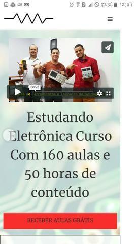 Venha nosso curso de eletronica geral garanta ja seu certificado profissional!!!