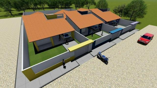 Casas Novas no Frei Higino - 3 Quartos (Suite com closet)