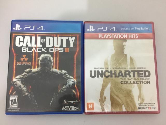 Call of duty BO3 e Uncharted