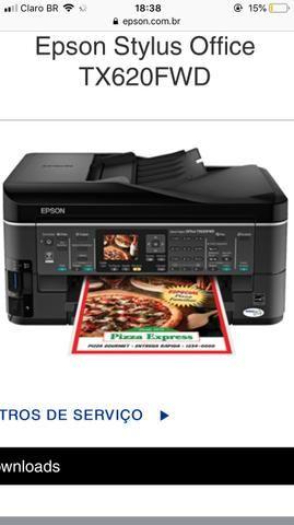 Vendo impressora Nunca usada Epson Stylus Office TX620FDE ou troca em uma smart tv