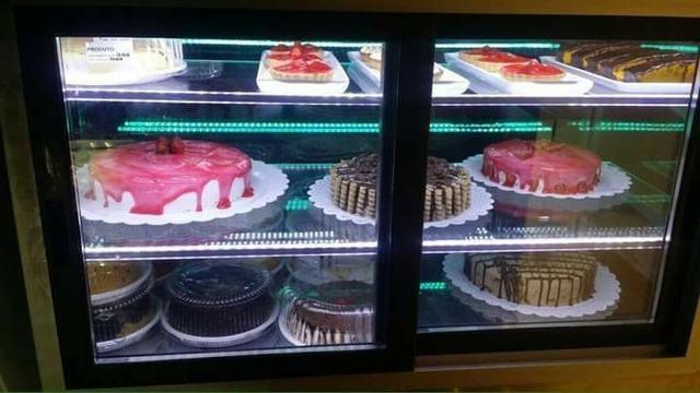 Vitrine e vitrines de Confeitaria, para bolos,e doces. Vitrine quente estufa - Foto 3