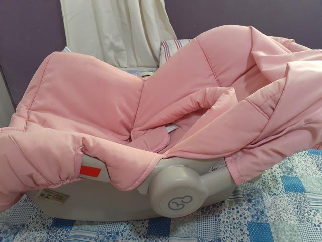 Bebê conforto Piccolino Galzerano Rosa - Foto 4