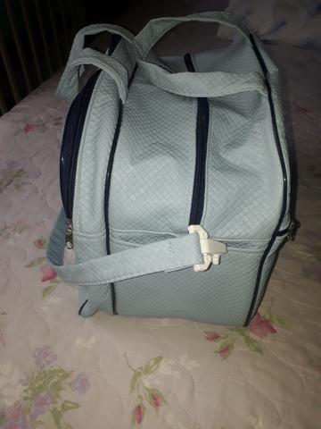 Protetor de berço para menino e bolsa - Foto 3