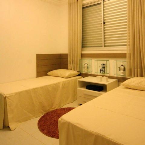 Apartamentoe 3 qtos 1 suite 1 vaga lazer completo, novo aceita financiamento - Foto 16