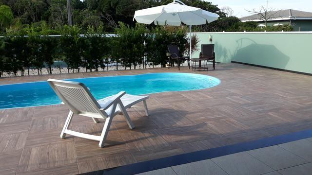 Casa Temporada com Piscina Praia do Ervino SC - Foto 18