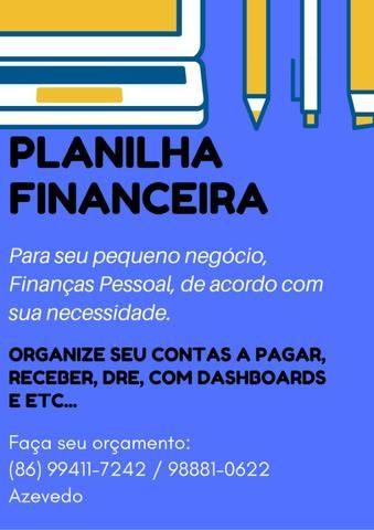 Planilhas Excel - Pequeno Negócio e Pessoal
