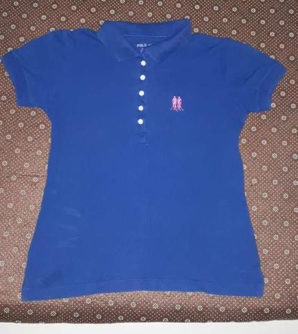 Blusa polo original preta e azul - Roupas e calçados - Água Branca ... de4fdc78b1f7e