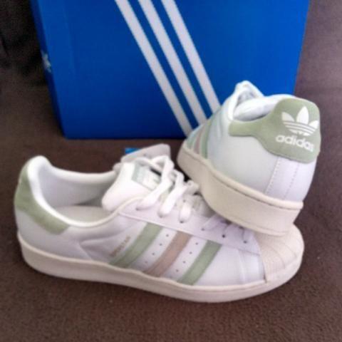 b75e27728db Tênis Adidas Originals Superstar W Tam 38 (original novo sem uso ...