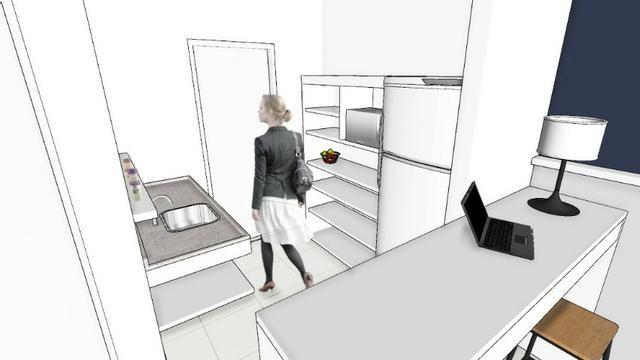 Apartamento no SPOT em frente a Unaerp. Todo mobiliado e com ar condicionado - Foto 2