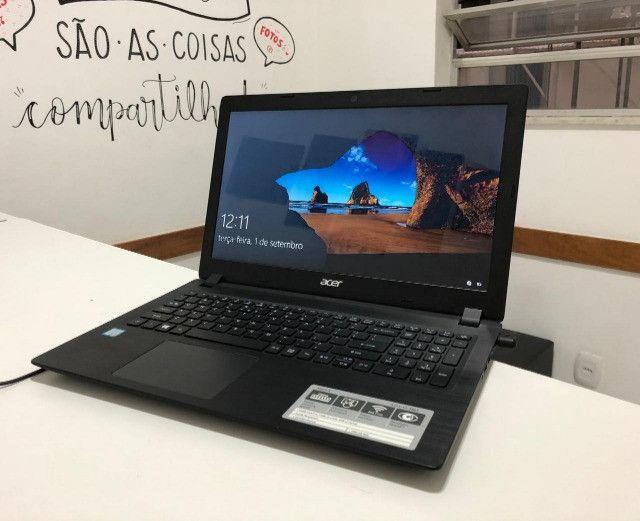 Notebook Acer/ I3 / 4GB / SSD 240GB / Tela de 15 - seminovo -Somos Loja Centro de NIterói - Foto 3