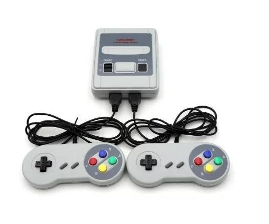 Super Mini Sfc Com 620 Jogos 8-bit E 2 Controles
