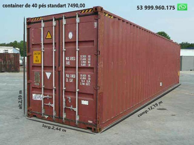Container marítimo - temos o melhor preço - somos importadores - Foto 3