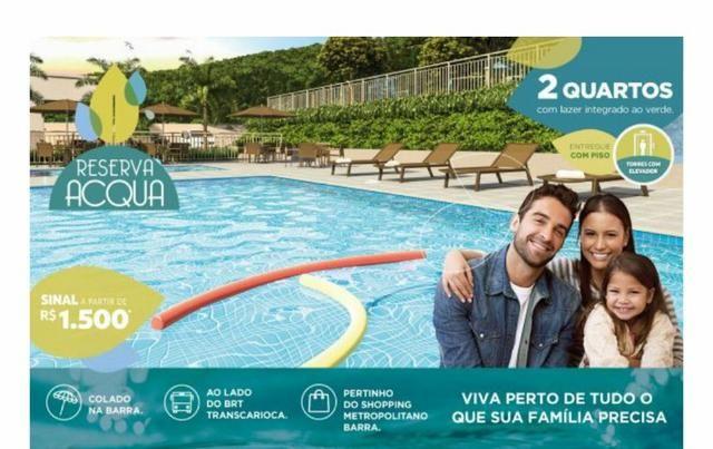 Apartamento de 2 quartos a 18min da praia da Barra, ITBI grátis - Jacarepaguá - Foto 20