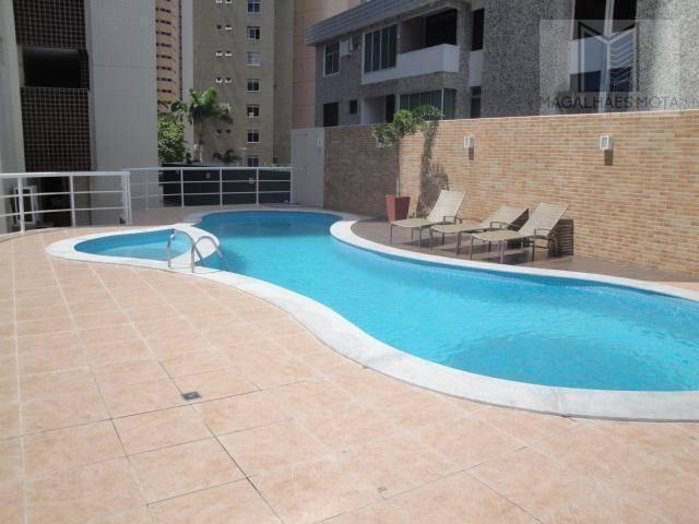 Apartamento com 2 dormitórios para alugar, 73 m² por R$ 2.020/mês - Meireles - Fortaleza/C - Foto 18