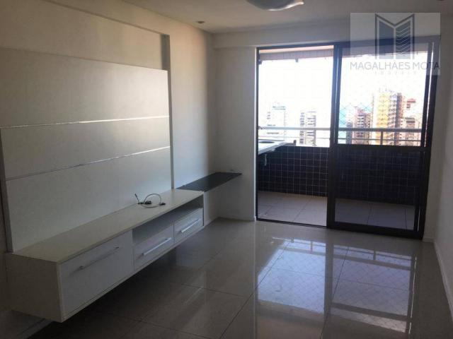 Apartamento com 3 dormitórios à venda, 73 m² por R$ 600.000 - Meireles - Fortaleza/CE - Foto 9