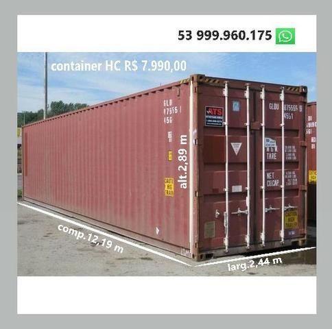 Container marítimo - temos o melhor preço - somos importadores - Foto 2