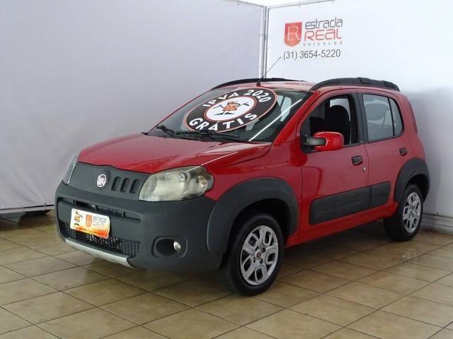 FIAT UNO 2010/2011 1.0 EVO WAY 8V FLEX 4P MANUAL - Foto 2