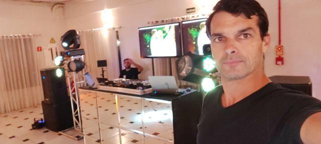 DJ som iluminação