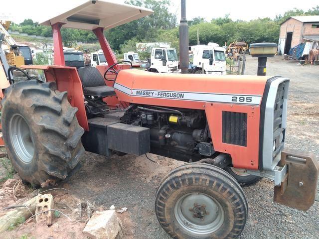 Trator Massey Ferguson 295 - Foto 2