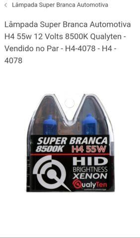 Lâmpadas Super Branca Efeito Xenon, Led e Ultra Led - Foto 6