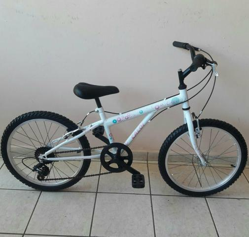 Bicicleta caloi aro 20 infantil