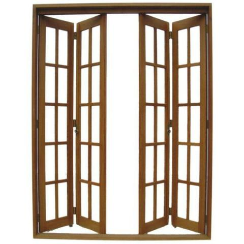 Portas de madeiras / janelas de madeiras/ puxador / fechaduras - Foto 4