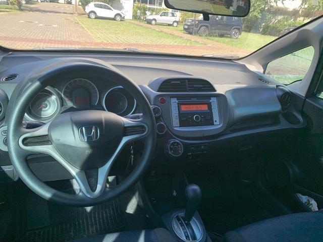 Honda Fit automático com GNV 5ª Geração e 2020 vistoriado - Foto 9