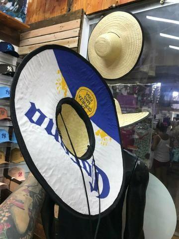 Chapéu de palha R$ 45,00 cada