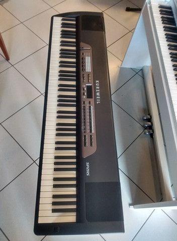 Piano Digital Kurzweil SP2XS (Mixer Instrumentos Musicais) - Foto 4