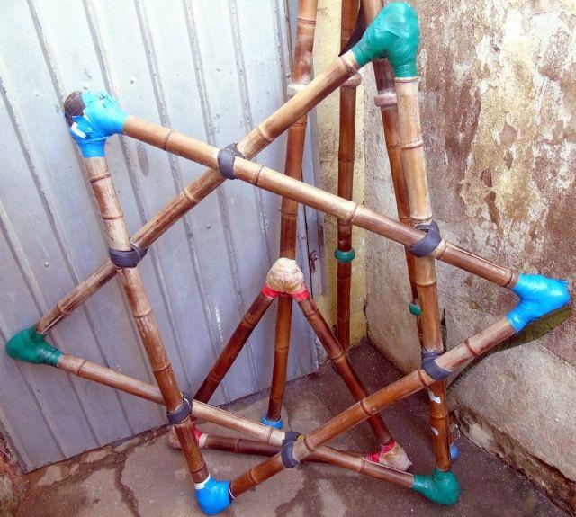 Pirâmide De Bambu Crossfit Yoga Playground - Foto 5